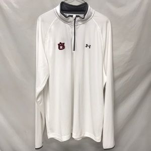 AUBURN UNDER ARMOUR 1/4 ZIP PULLOVER